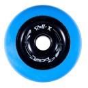 Roues de trottinettes métal bleu/noir